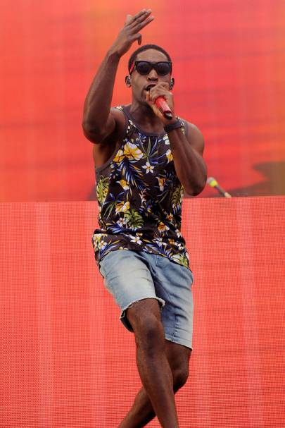 Tinie Tempah at Radio 1's Big Weekend