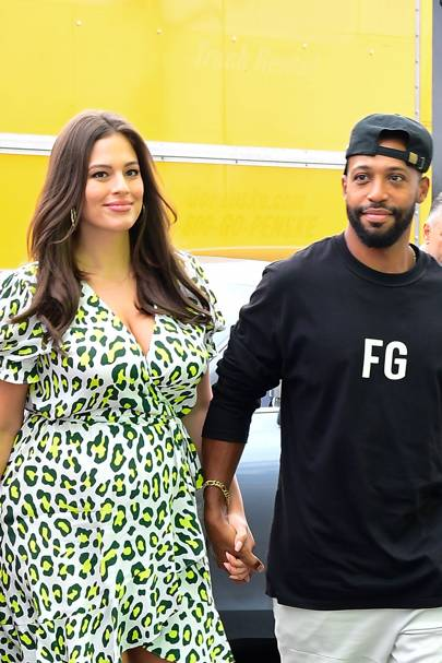 Ashley Graham & Justin Ervin