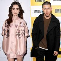 Lily Collins & Nick Jonas