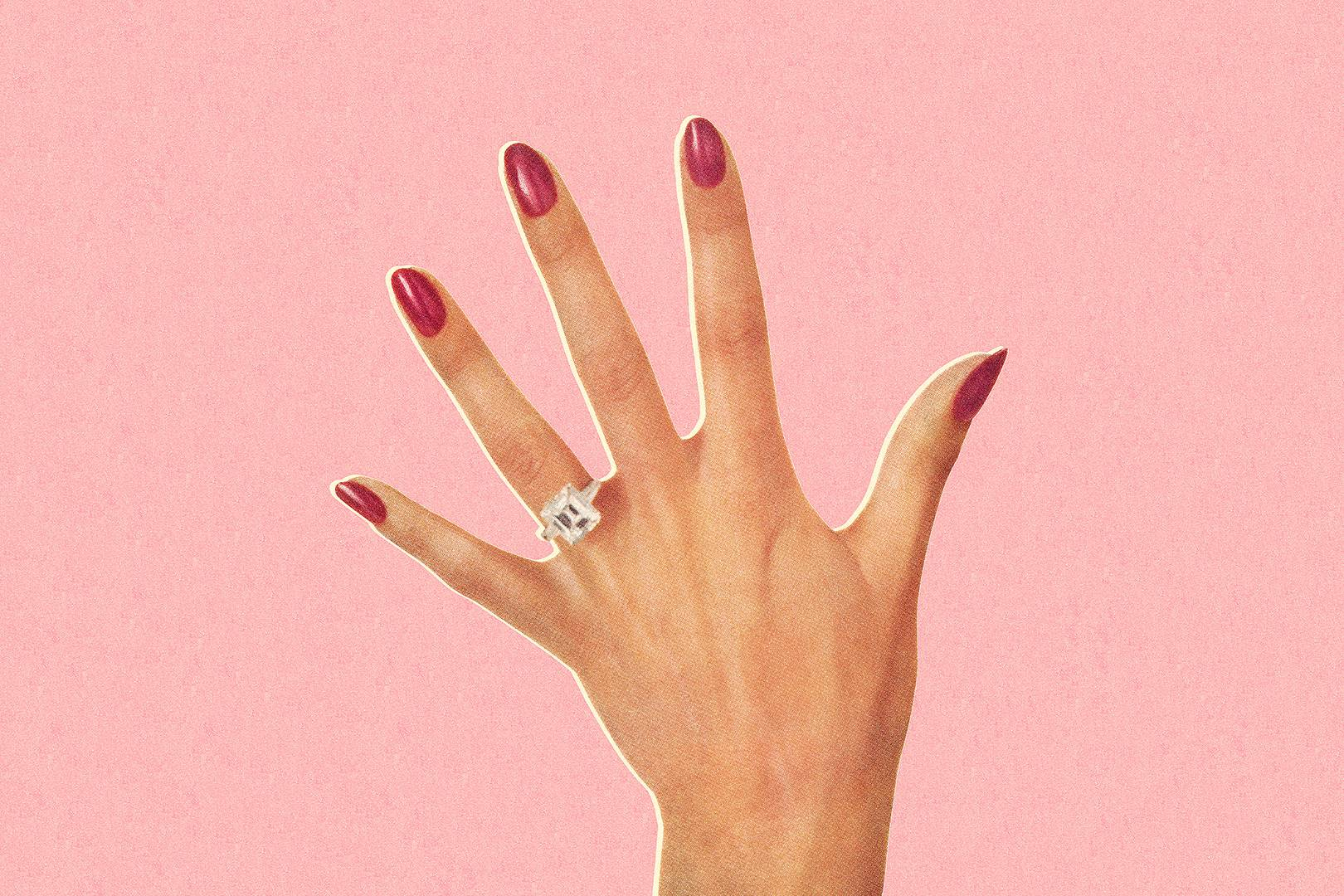 Engagement Ring App: Try On Rings in AR | Glamour UK