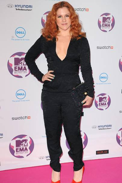 Katy B at the MTV EMAs 2011