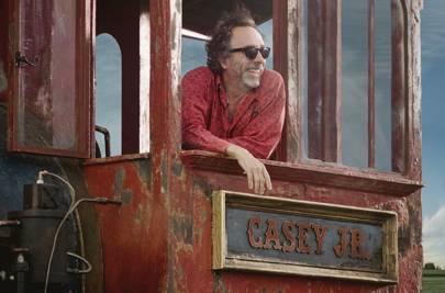 Tim Burton, director of Disney's remake of Dumbo