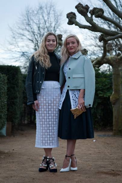 Kate Foley and Chelsea Leyland, Stylist and DJ