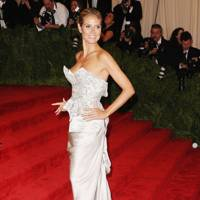 Heidi Klum at the Met Gala