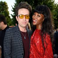 Nick Grimshaw & Naomi Campbell