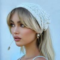 Lace headscarf