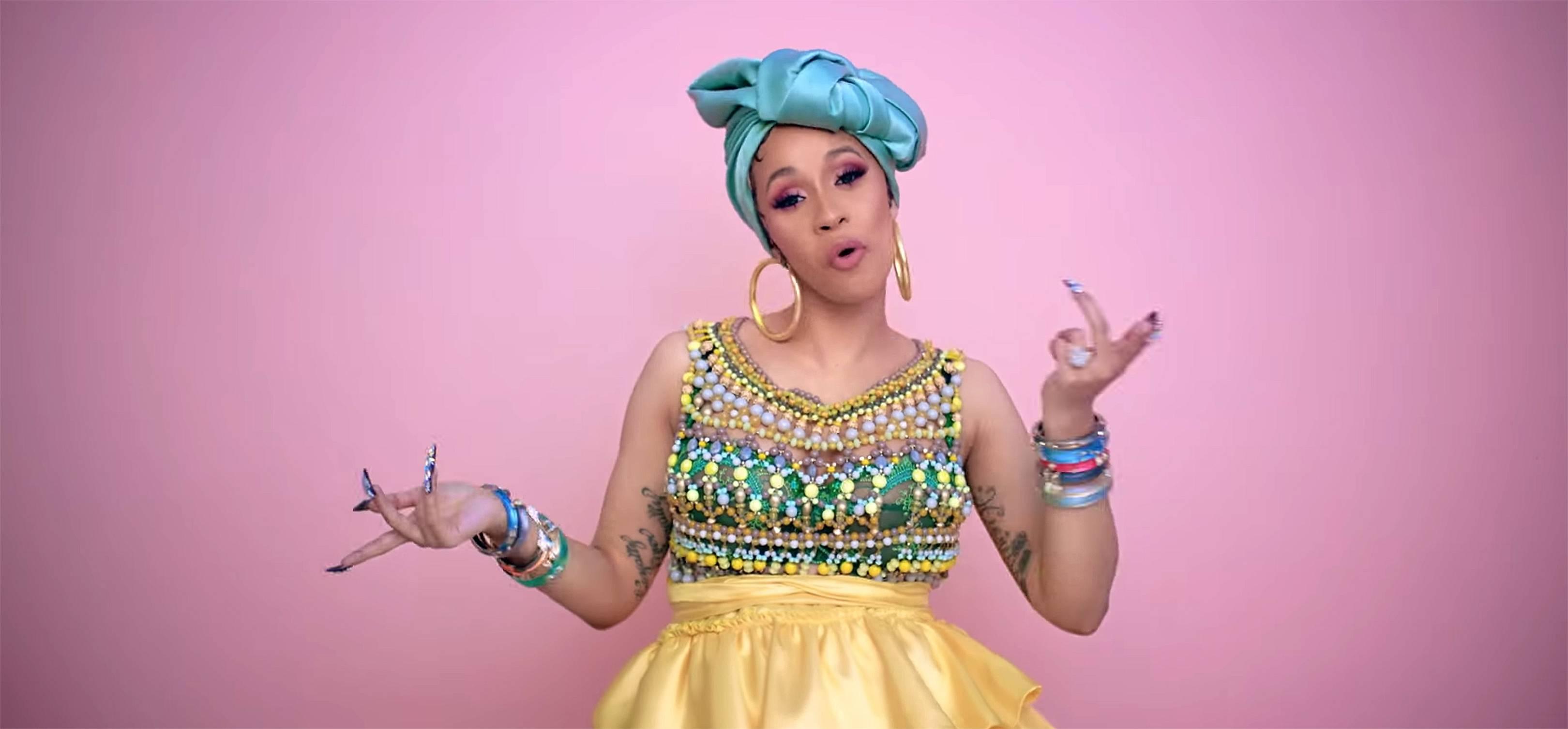 Cardi B Music Video For 'I Like It' | Glamour UK