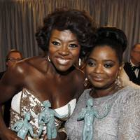 Viola Davis and Octavia Spencer at the SAGs 2012