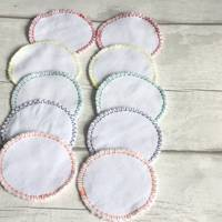 Reusable cotton reusable makeup remover pads