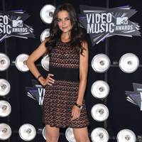 Katie Holmes at the MTV VMAs 2011