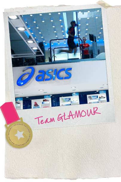 GLAMOUR tries out: ASICS Running Lab (Part 1)