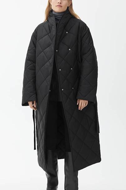 Oversized duvet coat