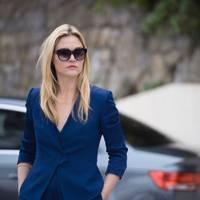The royal blue suit jacket