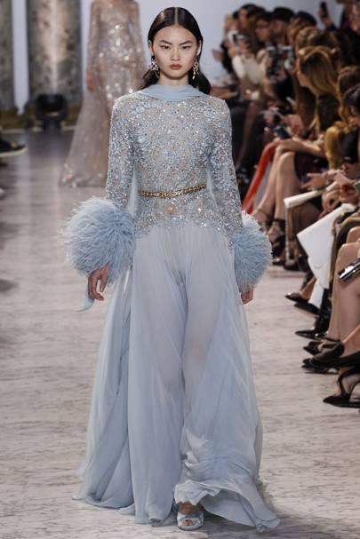 Option 1: Elie Saab Couture spring summer 2017