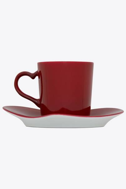 Valentine's Day gifts for her: the cup & saucer