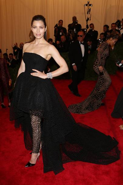 Jessica Biel at the Met Gala