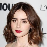 Our favourite A-List bob this year: Lily Collins