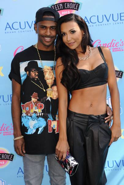 February: Naya Rivera & Big Sean