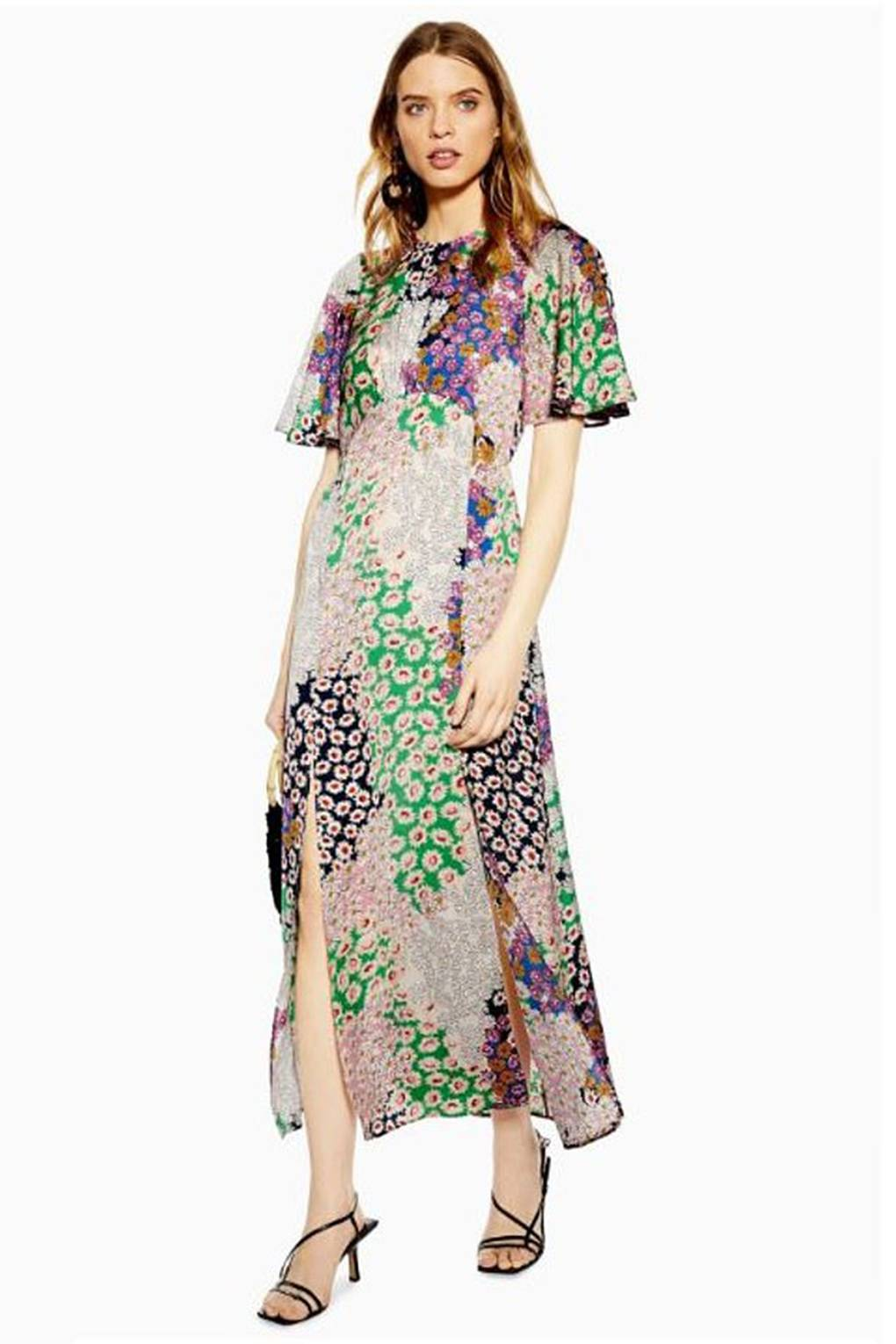 71cf4510fc Is This Topshop Austin Floral Print Midi Dress The It Dress Of 2019? |  Glamour UK