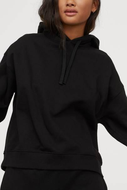 Best loungewear: the black hoodie