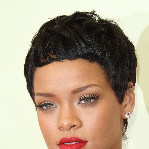 Superb Rihanna Hair Amp Hairstyles Red Hair Short Hair And Curly Styles Short Hairstyles For Black Women Fulllsitofus