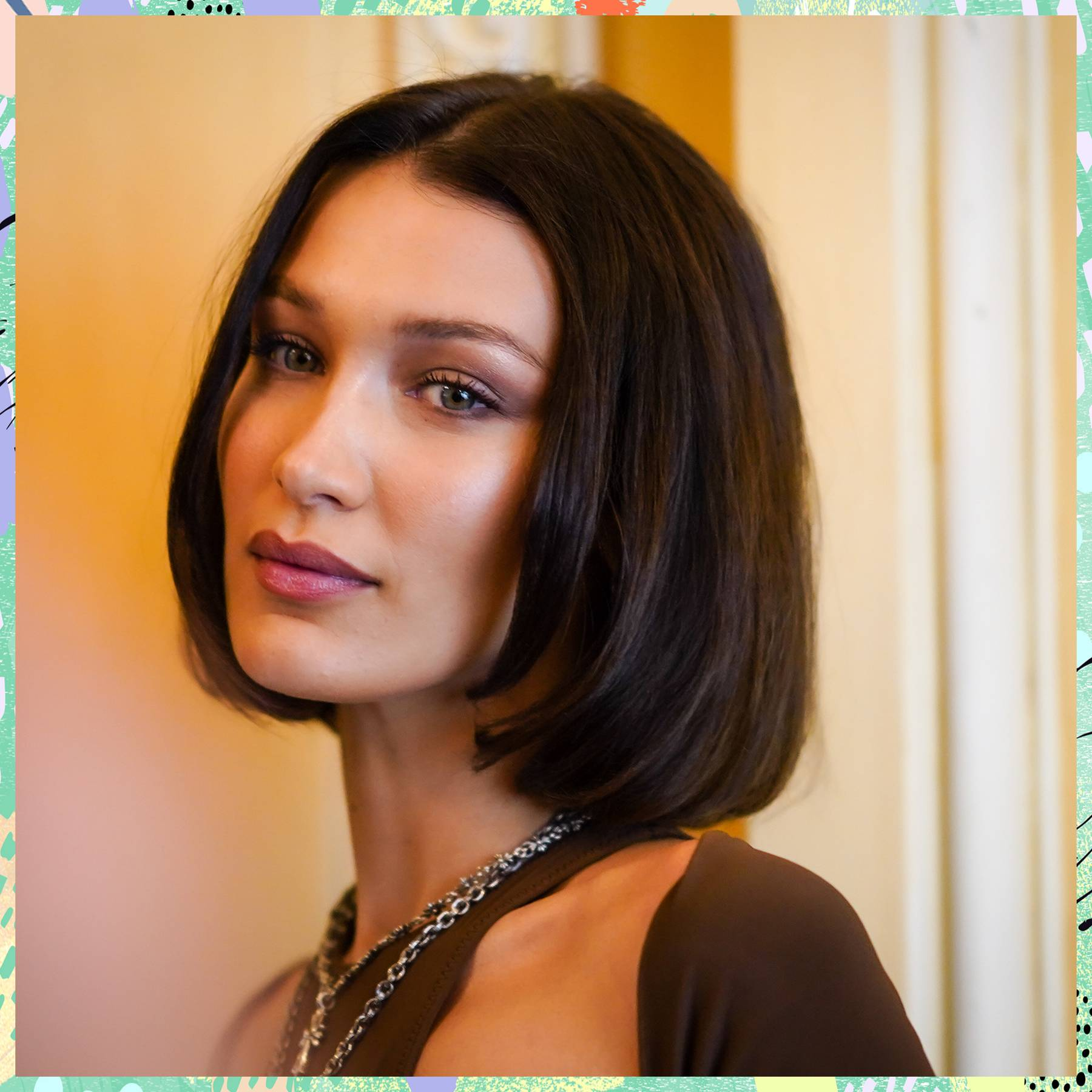 Bella Hadid's white-blonde hair makes her look like a different person
