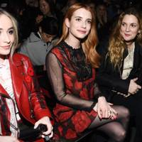 Sabrina Carpenter, Emma Roberts and Drew Barrymore