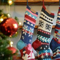 Best Christmas decorations: the knitted stockings
