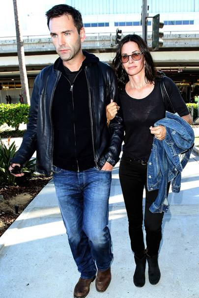 Courteney Cox & Johnny McDaid