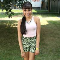 Dionne Bromfield at the Barclaycard British Summer Time Concert
