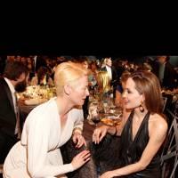 Tilda Swinton & Angelina Jolie