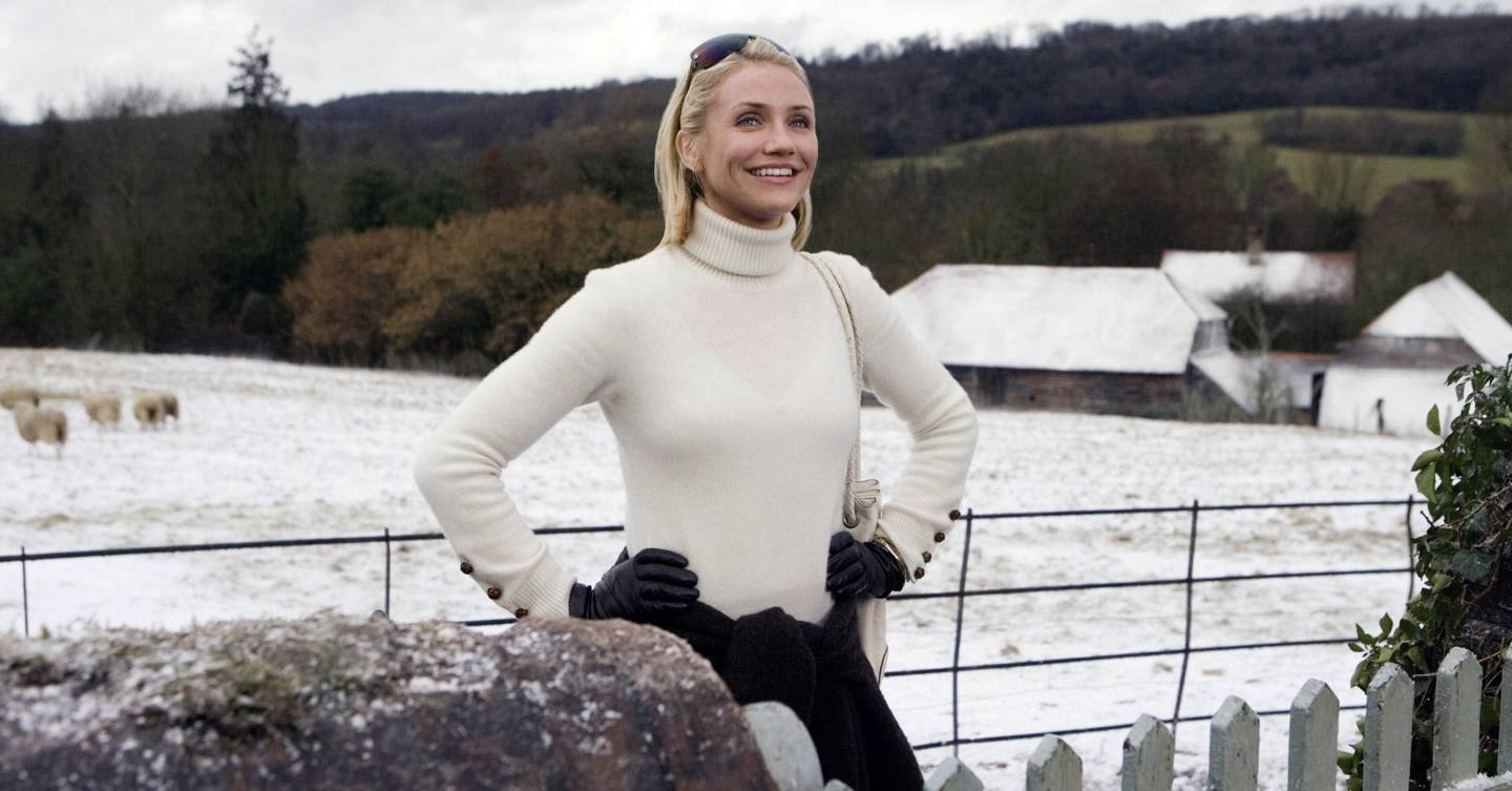 Cameron Diaz reveals what it was like 'running seven miles a day in heels' during filming for The Holiday (and the dressing room full of cashmere)