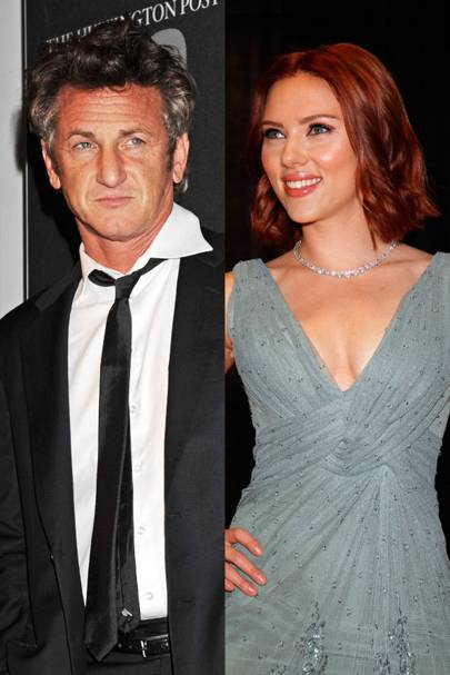 Sean Penn & Scarlett Johansson