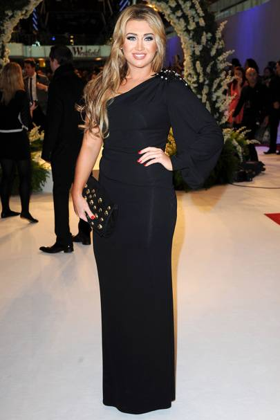 TOWIE star Lauren Goodger at the UK premiere of Breaking Dawn