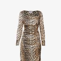 The Ganni Leopard Dress