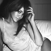 Rihanna poses for Emporio Armani Underwear