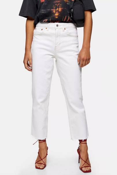 Best petite white jeans