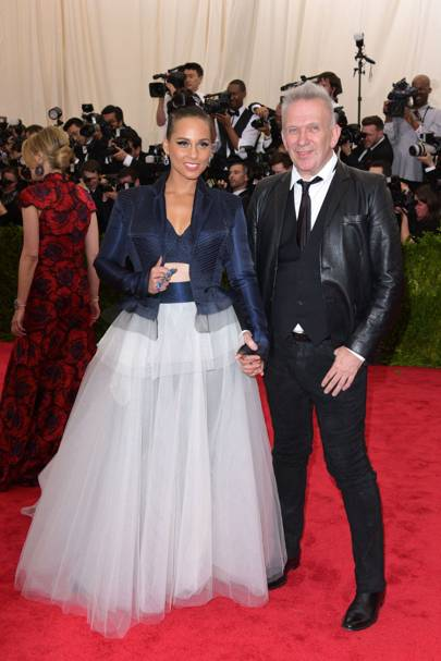 Alicia Keyes and Jean Paul Gaultier