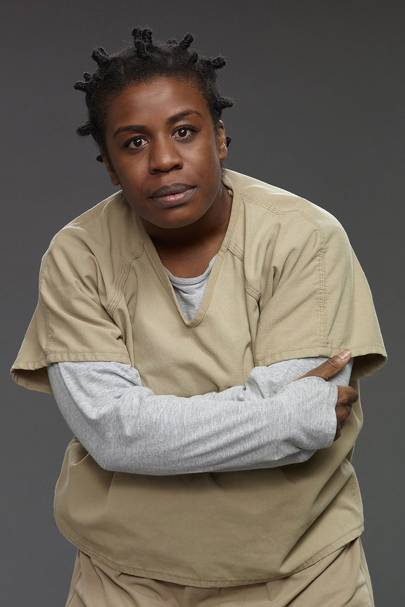 Uzo Aduba as Suzanne 'Crazy Eyes' Warren - OITNB