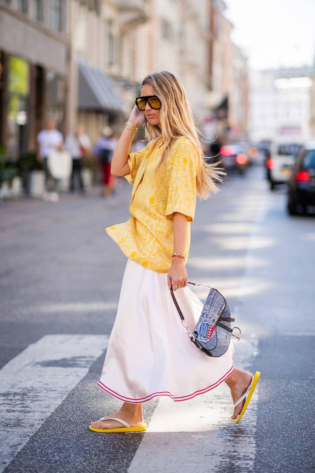 How Flip Flops Just Became The Fashion Set's Favourite Shoe | Glamour UK