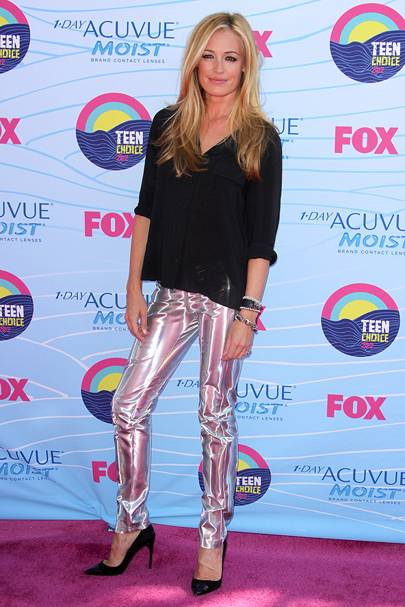Cat Deeley at the Teen Choice Awards 2012