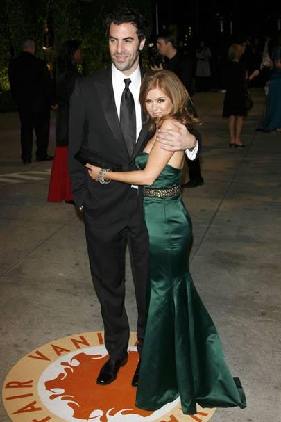 Sacha Baron Cohen & Isla Fisher