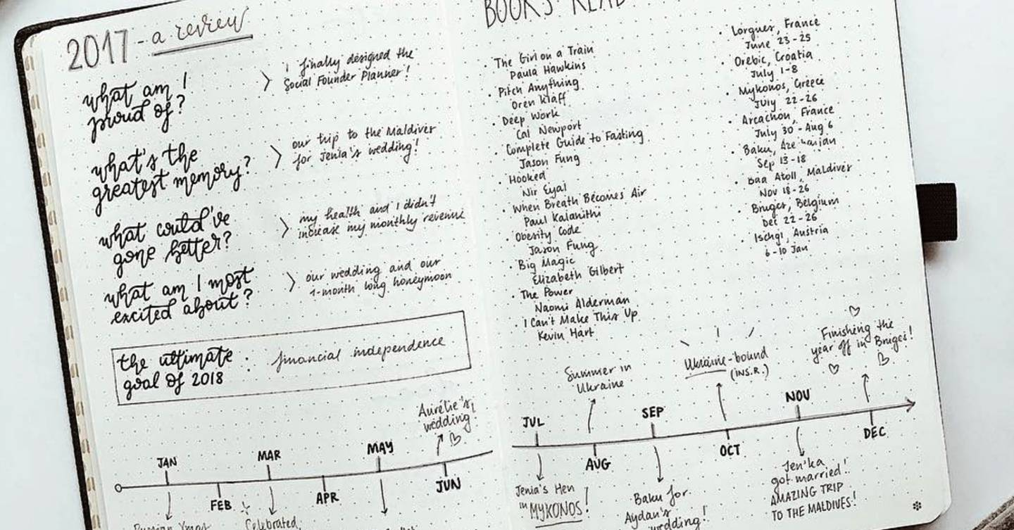 How you can use a Bullet Journal to organise your entire life