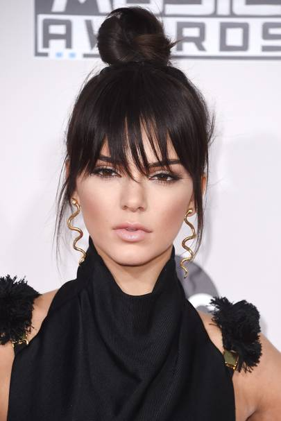 Kendall Jenner's bangs