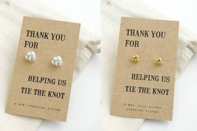 Bridesmaid gift ideas: thank you jewellery