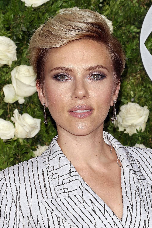 Scarlett Johansson Look Book Glamour Uk