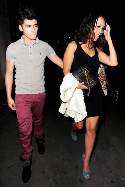 31. Rebecca Ferguson and Zayn Malik