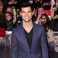 Taylor Lautner at the UK Premiere of Breaking Dawn 2