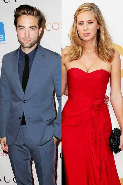 August: Robert Pattinson & Dylan Penn