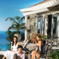 The Cohen's pool house - The O.C.